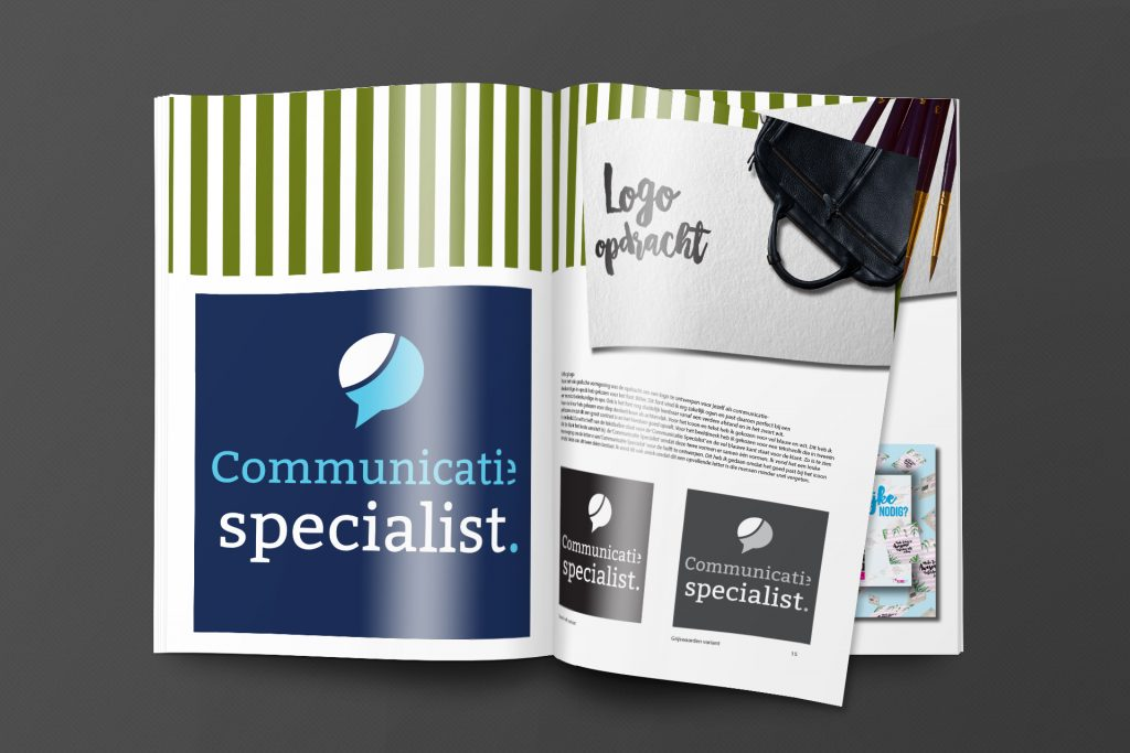 Nieuwe Stijl Grafische Vormgeving Putten Ontwerp Goedkoop Reclame Veluwe Logo Drukwerk Verslag Magazine